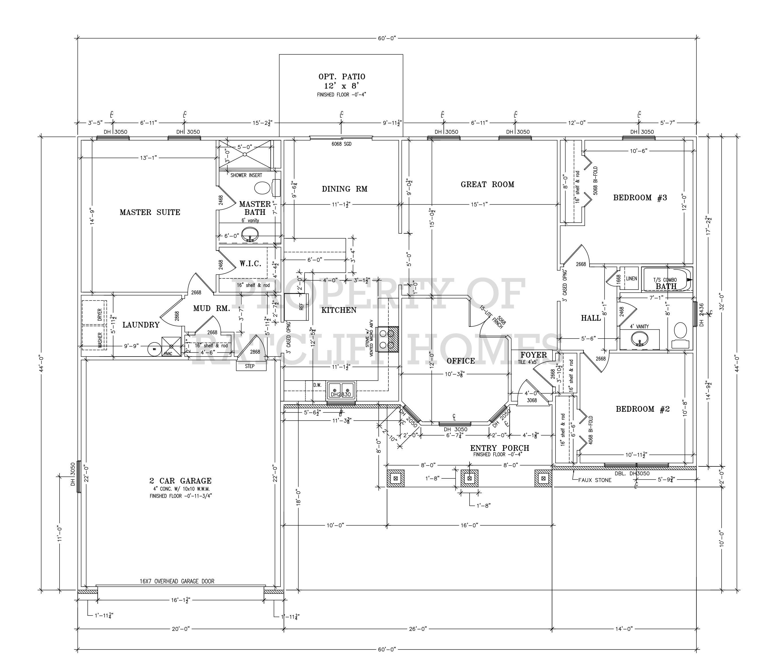 Dogwood floor plan