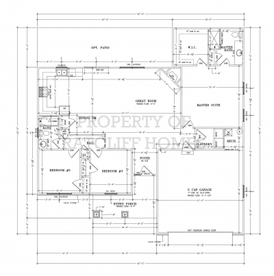 Juniper floor plan