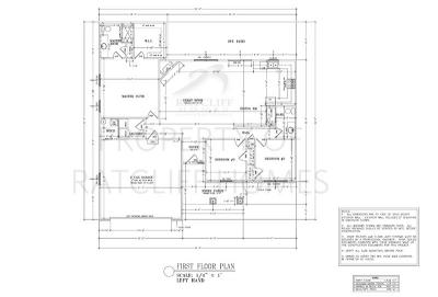 Floorplan for the Juniper plan