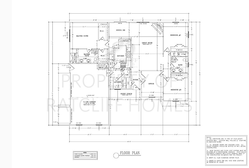 Floorplan for the Lilly plan