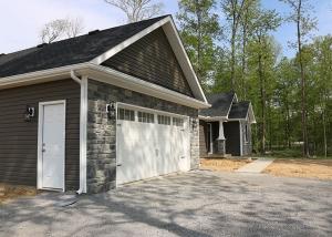 Custom home built with Rose floor plan