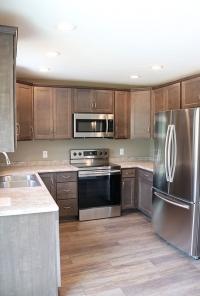 Custom kitchen in new home